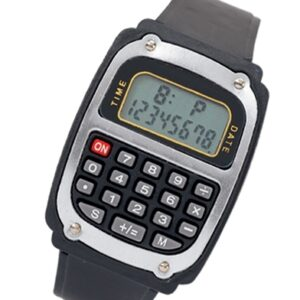 Timer/LCD Clock/Watch calculator
